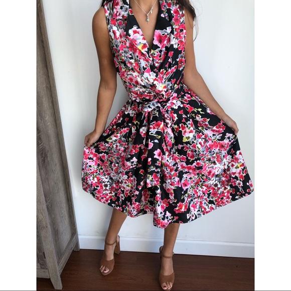 cc5531f7e61e2 Jessica Howard floral fit and flare sundress 12. M_5cafe44fbb22e3059a9a0f79